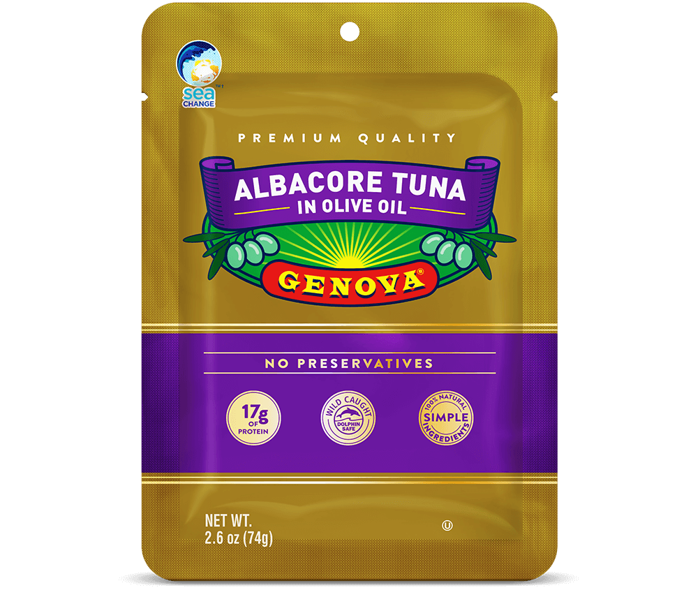Albacore in Olive Oil Pouch