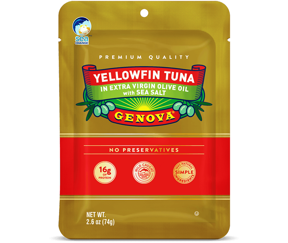 Yellowfin in Extra Virgin Olive Oil Pouch
